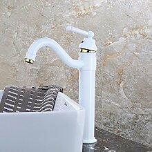 KHSKX-Cu Alle Becken Wasser Heizung Liefert Becken, Single Lift-Waschtisch Armatur