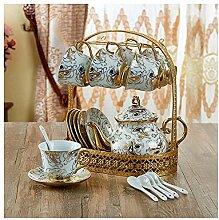 KHSKX-Die Kaffeetasse Verpackten Tee-/Kaffee Tasse Getränkehalter Befinden Sich Kreative Keramik Kits Wasser Tasse Kaffee Tisch