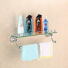 KHSKX Edelstahl Accessoires Badezimmer Badezimmer Badezimmer Badezimmer Handtuchhalter Regale