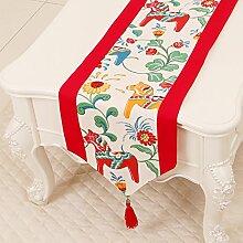 KHSKX einfache pastoralen tabelle flagge, tischdecke, kaffee, tischdecken, bett - flagge, kabinett flagge, tabelle matte, langen tisch tuch,g,33.