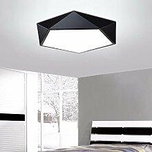 KHSKX einfache zimmer lampe geometrie, led - deckenleuchte, wohnzimmer, originalität, besondere form studie zimmer, restaurant deckenleuchte,- 62