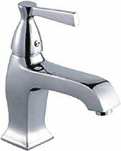 KHSKX-Einzelne Bohrung Wash-Basin Mixer Euro Style Bad hochwertige Armaturen heiße und kalte elegante Waschtisch Armatur