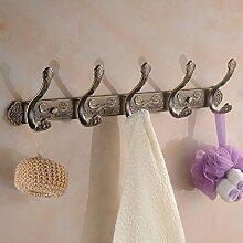 KHSKX europäischen stil aus antiken zeile haken, haken, haken, wänden kleiderbügel