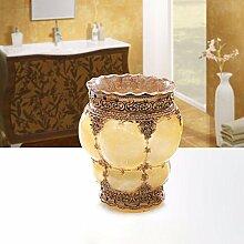 KHSKX Hochwertige Kunststoff Becher 5 Stück bad dekoration wc Badeanzug,G