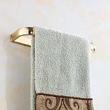KHSKX Kupfer, Gold, moderne Badezimmer accessoires badezimmer Handtuchhalter