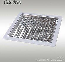 KHSKX Led Küche Licht Energiesparlampe Deckenleuchte integrierter Küche und Badezimmer decke Lampe 300*300