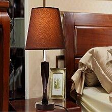 KHSKX Moderne einfache kreative Schlafzimmer Lampe, Nachttischlampe, Tuch Beleuchtung, Hotel Zimmer geführt, Lampe, Tischlampe,C