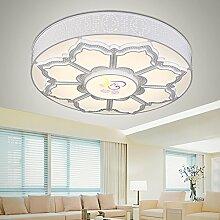 KHSKX Neue Versprechen farbige LED-Lampe Beleuchtung Decke 48cm