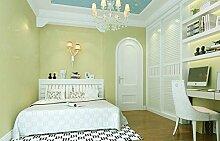 KHSKX-Nicht Aus Tapete, Umweltschutz, Kinderzimmer, Junge, Mädchen, Fantasy, Sterne, Weiße Wolken, Schlafzimmer - Tapete,B