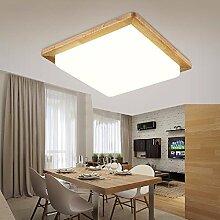 KHSKX nordische führte deckenleuchte, schlafzimmer holzdecke lampe,32x32