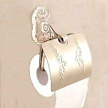 KHSKX Retro gefalteten weißen Handtuchhalter Stil Badezimmer Handtuchhalter Handtuchhalter Regal Aktivitäten Kabel wc Papierrollenhalter Seifenhalter Handtuchring Handtuchhalter , J