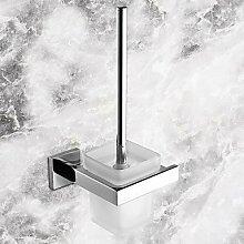 KHSKX Toilettenbürstehalter Zeitgenössisch - Wand befestigend , Silver