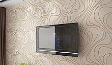 KHSKX-Tv - Hintergrund, Wand - Papier, Film Und Fernsehen, Schlafzimmer, Wohnzimmer, 3D - Tapete, Nicht Aus Tapete, Einen Modernen Tapeten, 10 * 0.53M,Ein