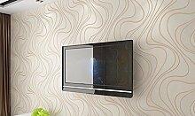 KHSKX-Tv - Hintergrund, Wand - Papier, Film Und Fernsehen, Schlafzimmer, Wohnzimmer, 3D - Tapete, Nicht Aus Tapete, Einen Modernen Tapeten, 10 * 0.53M,B