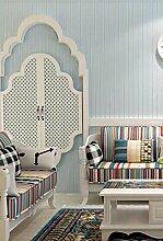 KHSKX-Vertikal Gestreiften Tapete Aus Tapete Einfach Nur Schlafzimmer, Wohnzimmer, Tv - Kulisse Tapete 10 * 0.53M,Ein