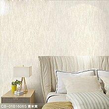KHSKX-Vollfarbe Vlies Tapete Bedeckte Die Wohnzimmer - Studie Schlafzimmer Warm Minimalist Moderne Kulisse Tapete,Ein