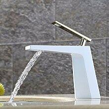 KHSKX-Waschbecken Wasserhahn Warmes Und Kaltes Wasser Plattform Waschbecken Armatur Waschbecken Waschbecken Wasserhahn