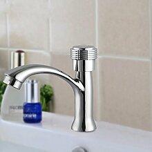 KHSKX-Wasser Heizung Desktop dann Hochwertige Hahn und Waschtischmischer hochwertige Armaturen Zinklegierung Einzelner hoher Qualität Wasserhahn