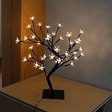 KHSKXled - simulation der branche lampe, kirschbaum, nacht - licht, dekoration, hochzeit dekoration lampe
