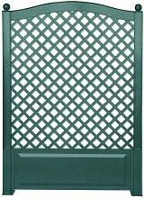 KHW 37703 Spalier 100 cm mit Erdspießen, grün