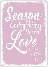 Kia Haop Season Everything with Love Pink Metall