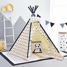 Kibten Cartoon Fünfeckige Indoor Kinder Tipi Zelt