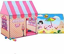 Kibten Moderne rosa kinder kinder spielen zelt fee