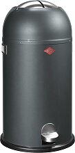 Kickmaster - 33 Liter - Mülleimer- Graphit