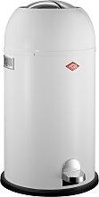 Kickmaster - 33 Liter - Mülleimer - Weiß