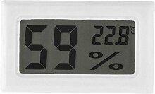 Kicode Digital Innen- Hygrometer Thermometer Feuchte-Monitor mit Temperatur Für Baby