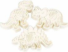 Kicode DinosaurierShaped CookieKeks Schneider Mold Startseite Küchen Bakeware Dekorative Werkzeuge