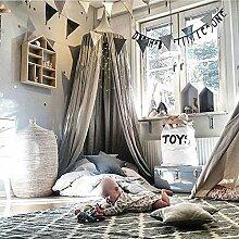 Kicode Kinder Kinder Baby Bettwäsche runden Dome