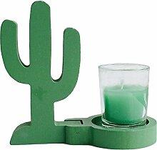 Kicode Leuchter Flamingo Kaktus Ananas Kerzenhalter Stehtisch Romantische Geschenke Hausparty