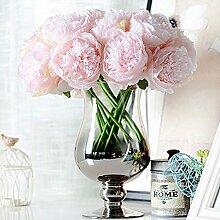 Kicode Peony Chrysanthemum Simulation Brautstrauß