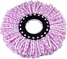 Kicode Rotation Mop Kopf 360 Grad Mikrofaser-Spinning Boden Sweeper Haushalt Verbrauchsmaterialien Werkzeuge Dauerhaf