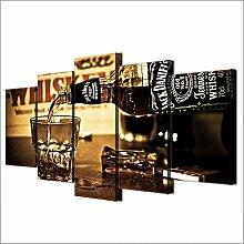 Kicode TOPmountain 5 Stück/Satz Bier Weinglas
