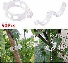 Kicode TOPmountain 50 Pcs Plant Support Garden