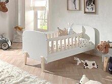 Kiddy Babybett 70x140 cm Weiß