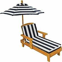 KidKraft 105 Outdoor Lounge Sonnenliege aus Holz