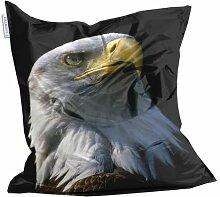 Kids Design Sitzsack von Showtex Adler bedruckt Kinder Tiere Vogel
