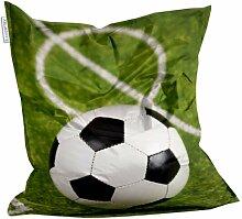 Kids Design Sitzsack von Showtex Fussball bedruckt Kinder Jungen Spor