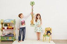 Kids Sunny Safari Kids Holz-Messlatte Wand