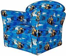 Kidsaw Mini-Sessel, Stoff, Blau