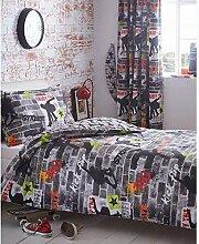 Kidz Club Jugendliche Einzelbett Bettbezug und