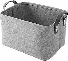 KIEDIF Aufbewahrungsbox Stoff-Aufbewahrungsboxen
