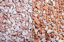 Kies Splitt Zierkies Edelsplitt Mediterran Splitt 8-12mm Big Bag 250 kg
