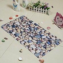 Kieselsteine Die Cartoon-matten/Badezimmer-matten/Fußabtreter/Foot Pad/Pvc-badematte-A 39x70cm(15x28inch)