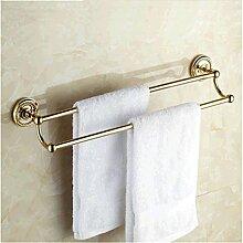 KIEYY Antique Gold poliert Badezimmer Zubehör
