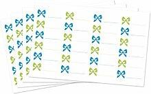 Kigima 96 edle Aufkleber Sticker Klebe-Etiketten