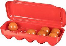 Kigima Eierbox für 10 Eier ro